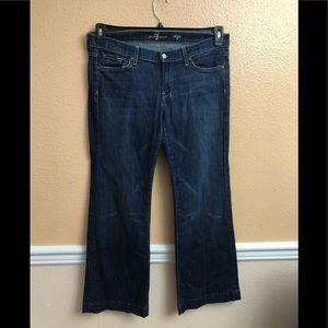 7 For all Mankind  dojo  jeans size 32 perfect co